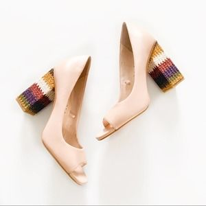 Katy Perry The Catie Block Heel Peep Toe Sandal